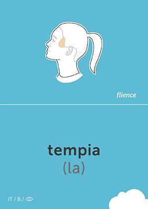 Tempia #CardFly #flience #human #italian #education #flashcard #language