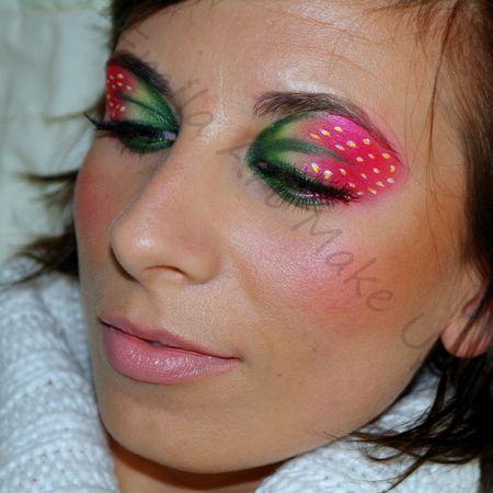"""strawberry twist"" makeuphttps://www.makeupbee.com/look_strawberry-twist_36909"