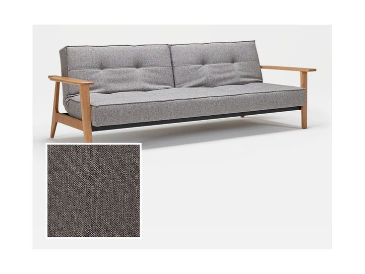 Sofa Splitback Frej szara 216 — Sofy INNOVATION iStyle — sfmeble.pl
