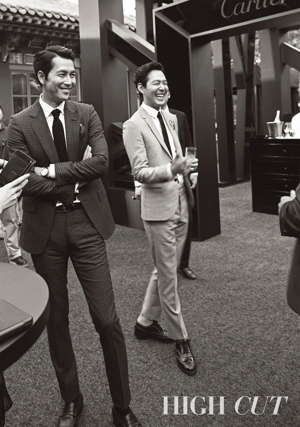 Jung Woo Sung | 정우성 | D.O.B 22/4/1973 (Taurus) & Lee Jung Jae | 이정재 | D.O.B 15/3/1973 (Pisces)