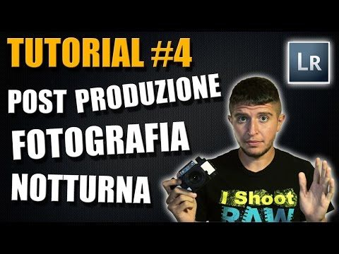 Tutorial #4 - Postproduzione fotografia notturna - YouTube