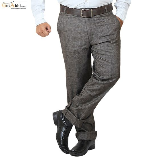 Buy Trousers for Men online in India.Free shipping + Cash on Delivery. visit http://tinyurl.com/pduef7t