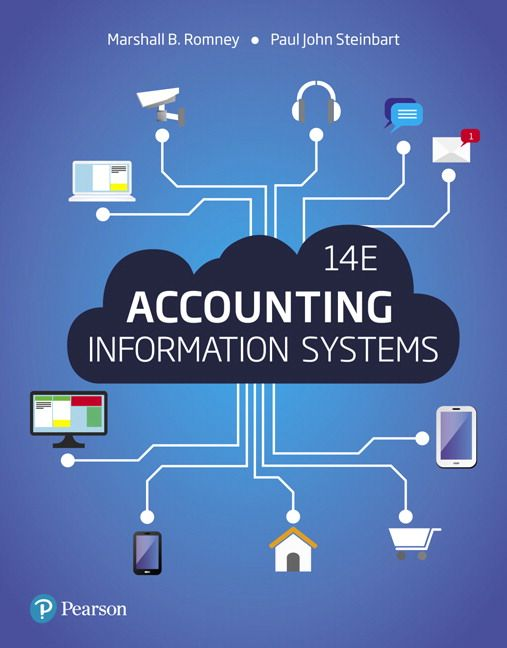 Accounting Information Systems 14th Edition Solutions Manual Romney Steinbart INSTANT DOWNLOAD  Free download sample:Accounting Information Systems 14th Edition Romney Solutions Manual