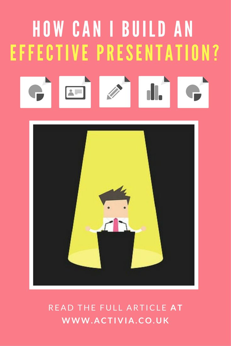How can I build an effective presentation? The article this links to show s just how to build a presentation that will impress audiences. #presentation