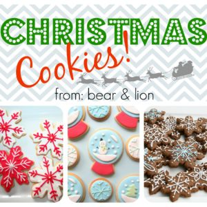 christmas cookie round-up!