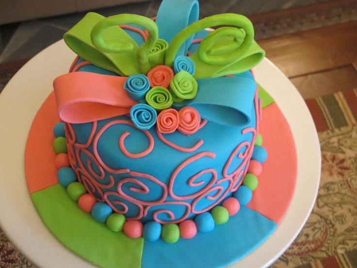 Best Neon Cakes Images On Pinterest Neon Cakes Birthday - Neon birthday party cakes