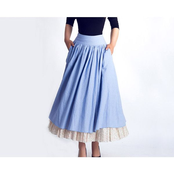 25  best ideas about Long a line skirt on Pinterest | Chiffon ...