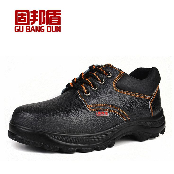 large size black men lace up steel toe cap work safety shoes spring autumn tooling low boots outdoor protective footwear zapatos