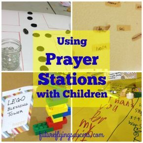 Series for Kids} → Using Prayer Stations with Children Posted on January 31, 2016 by futureflyingsaucersJanuary 31, 2016 20 And when you are praying, do not use meaningless repetition as the Gentiles do, for they suppose that they will be heard for their many words. ~ Matthew 6:7 Prayer. You need it, your kids need it. Like water to our very souls, the importance of prayer cannot be overstated. But how do you keep kids engaged in praying, more than ...