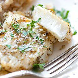 Pieczony filet z halibuta   Kwestia Smaku