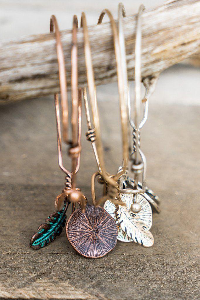 Blessed Charm Bracelet   Mason & Ivy   Copper Bracelet