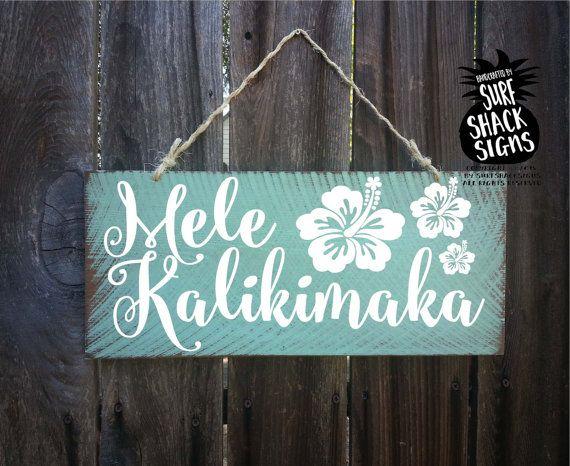 mele kalikimaka, mele kalikimaka sign, Hawaiian Christmas, national lampoons Christmas vacation, Christmas decoration, Christmas decor