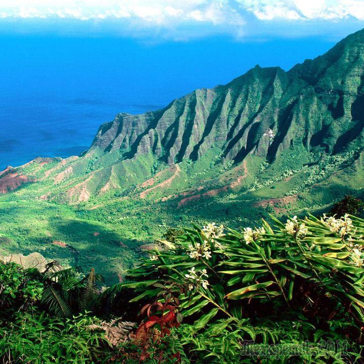 Каньон Ваймеа о. Кауаи, Гавайи.