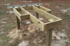 shooting bench plans - Google Search