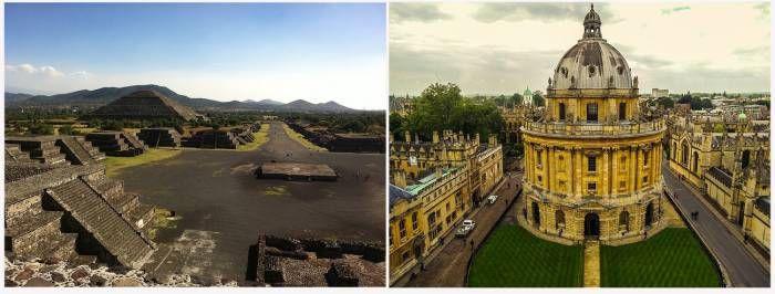 Дню знаний посвящается. Оксфордский Университет старше Империи Ацтеков. Судите сами: преподавание в Университете Оксфорда началось (хоть и не совсем в университетском формате) в 1096 году. А основание Теночтитлана (ацтекского города-государства), которое считает�