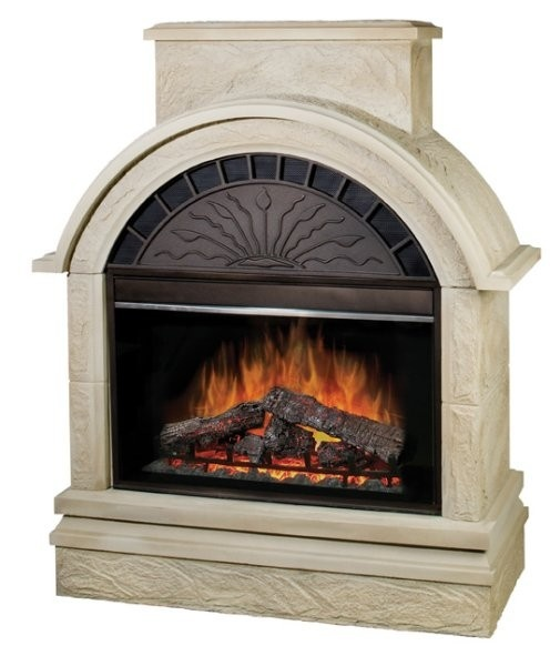 Scottsdale Outdoor Electric Fireplace Home Building