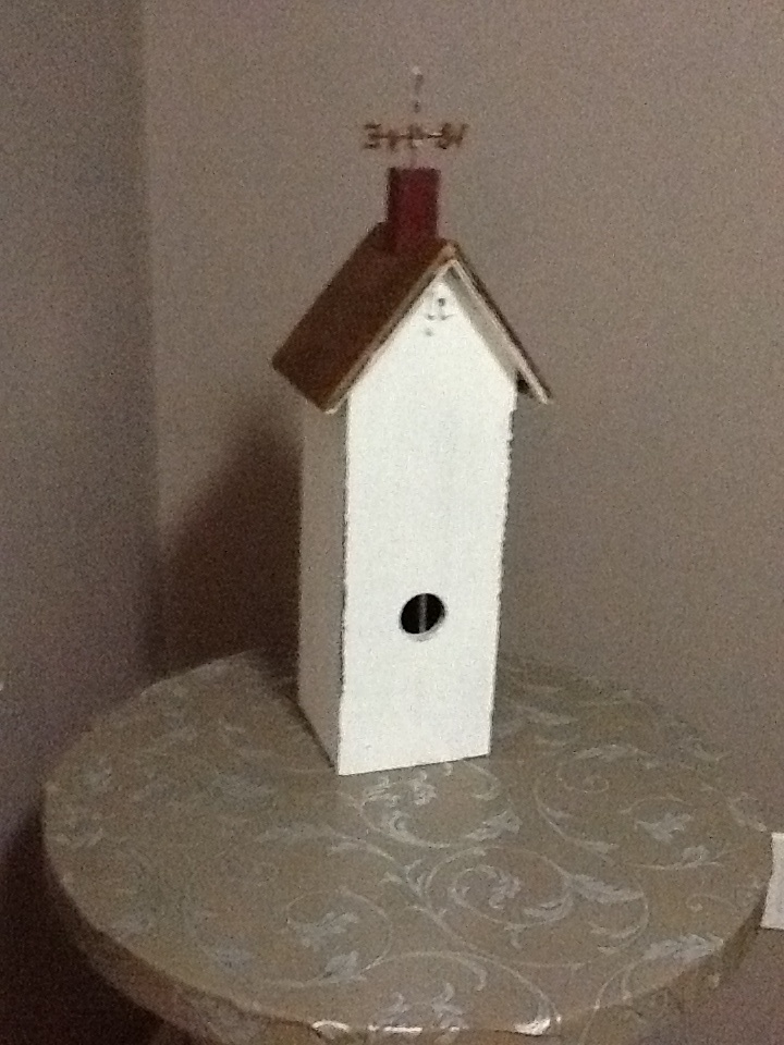Wine box painted and aged...yet to finish as Xmas decoration