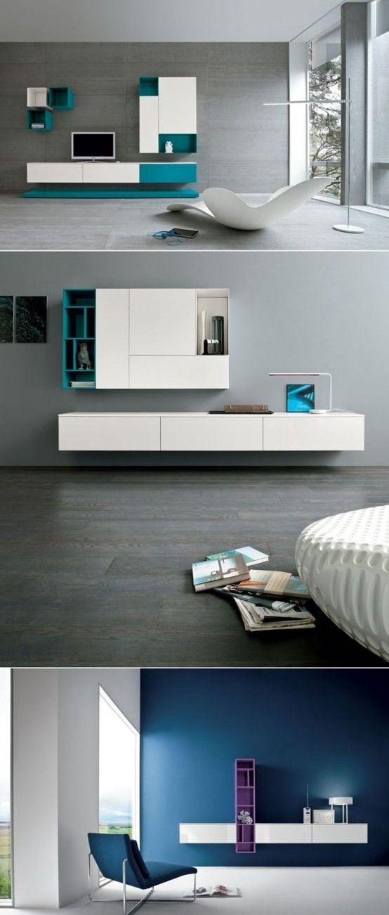 58 best tv-meubels images on Pinterest Ikea ideas, Lounges and - küchen wanduhren design