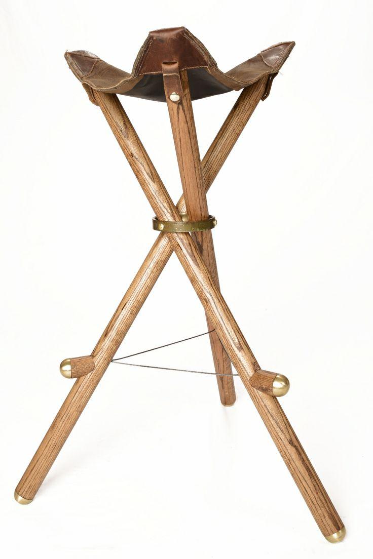 Patent pending folding bar stool.