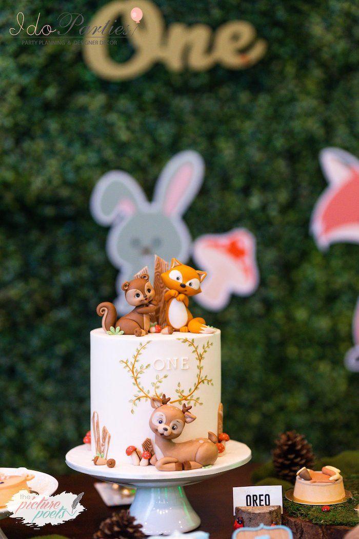 Pin On Woodland Birthday Party Ideas