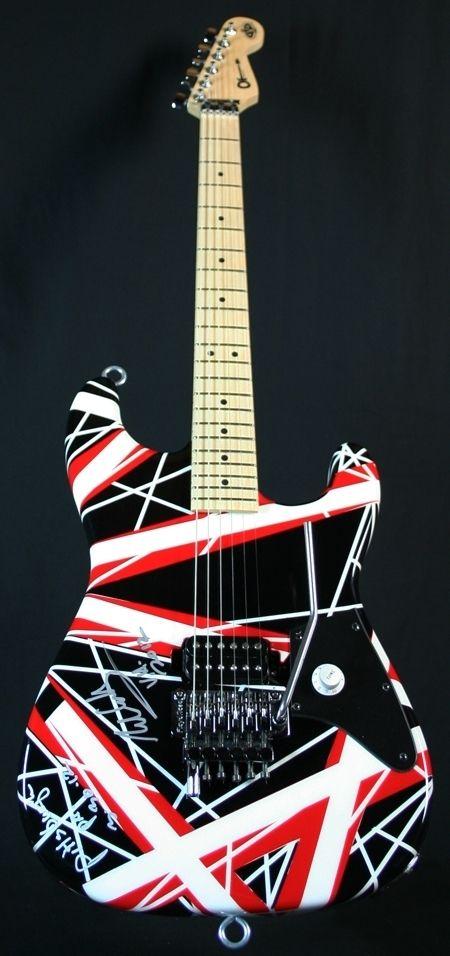 Eddie Van Halen - EVH Art Series Guitar #204