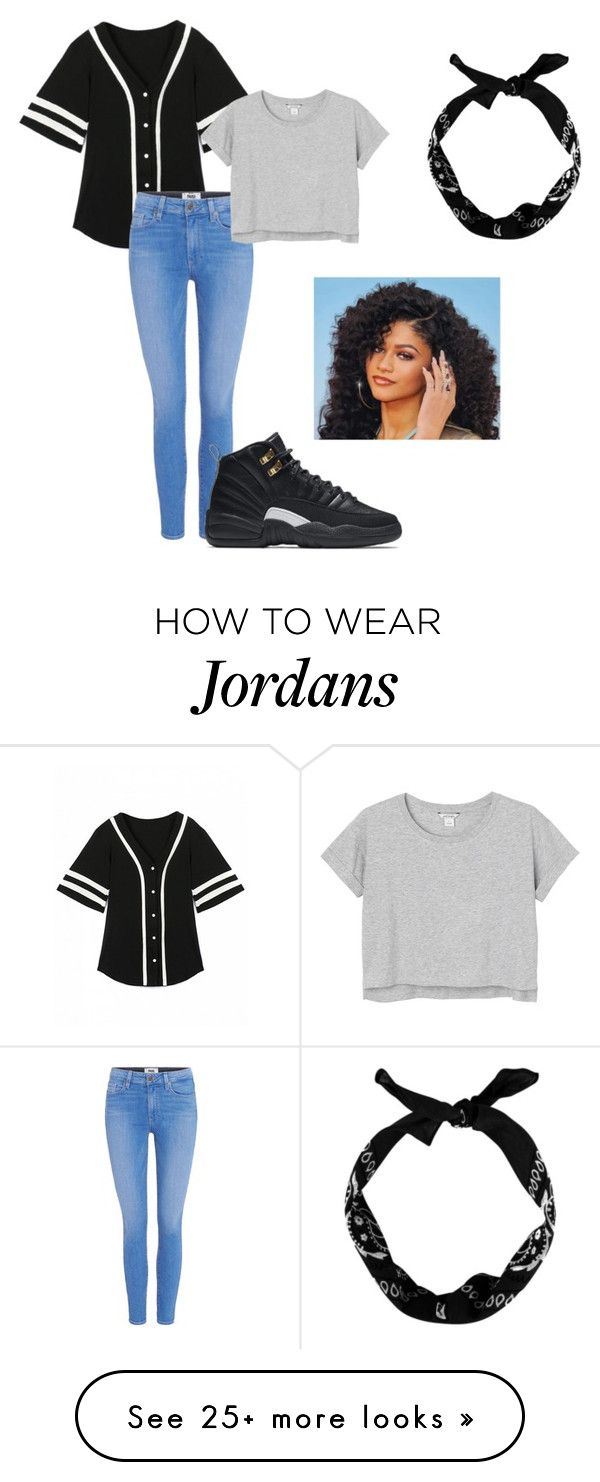 """"" by mrshayesgrier7 on Polyvore featuring Paige Denim, Monki, NIKE and New Look"
