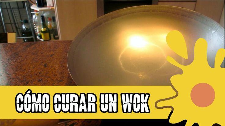 Cómo curar un wok, sartén u olla de hierro. ¡Prepárate antes de cocinar!