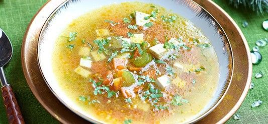 Soep met citroengras en tofu :: Gezondheidsconsulent-evelien