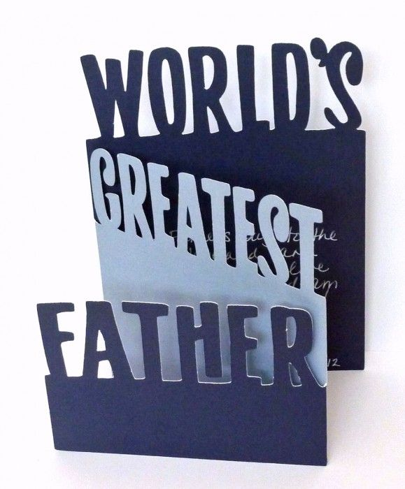 Creative Father's Day Card