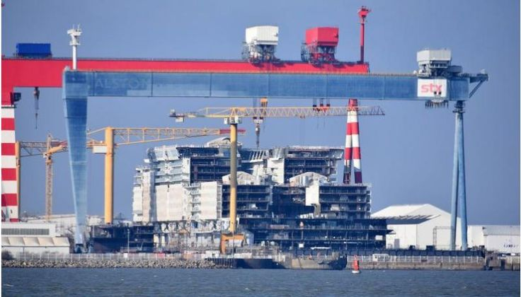 Royal Caribbean construye el Symphony of the Seas, nuevo crucero más grande del mundo