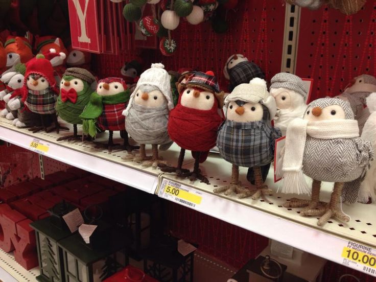 Target knit birds! I want them but can't find them online! :(