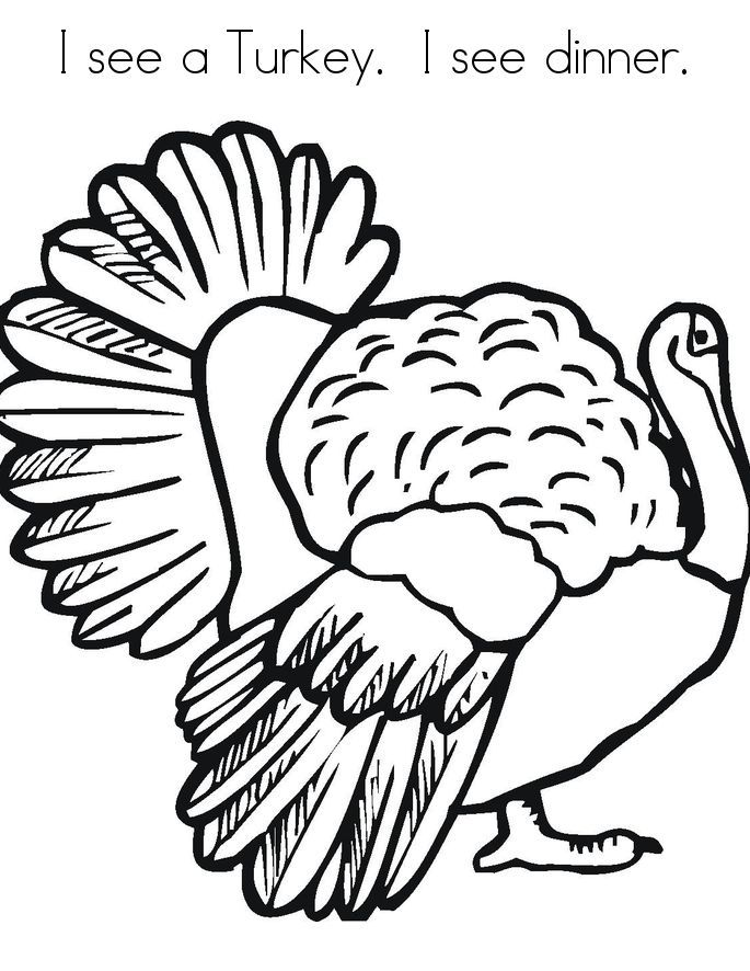 Free Printable Turkey Coloring Pages For Kids Thanksgiving Crafts