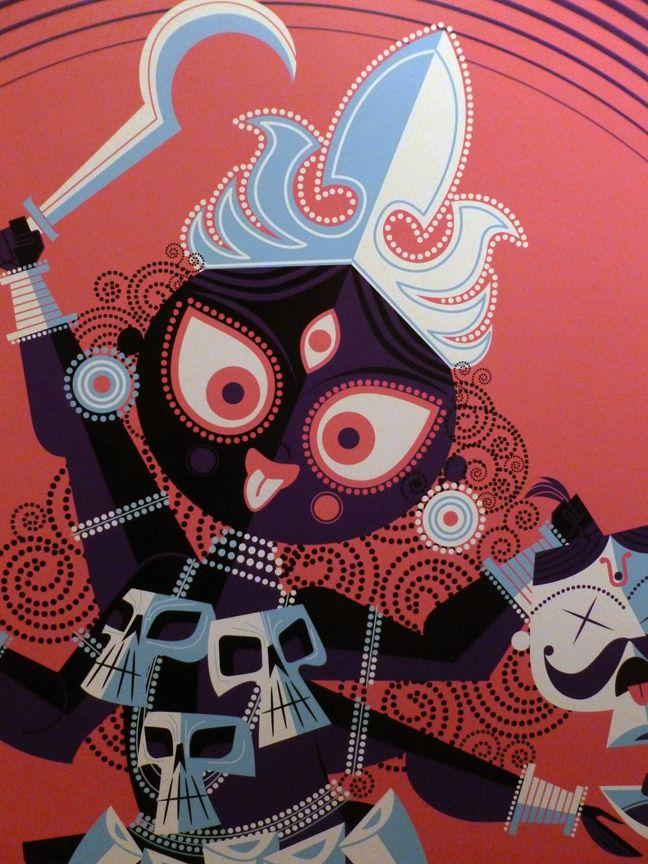 Kali from Sanjay Patel's Little Book of Hindu Deities