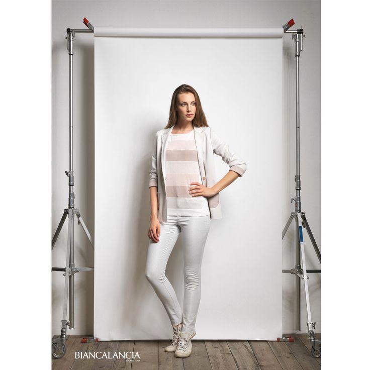 Light pink and light grey  #Biancalancia