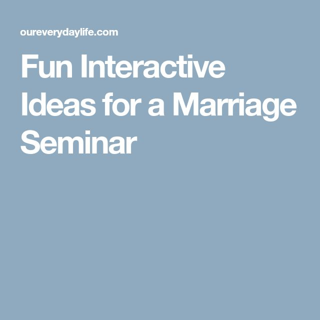 Laugh Your Way Better Marriage Seminar