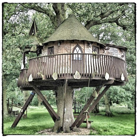 Amazing treehouse..could live here..