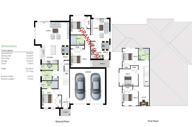 16 Best Duplex And Dual Living House Designs Images On