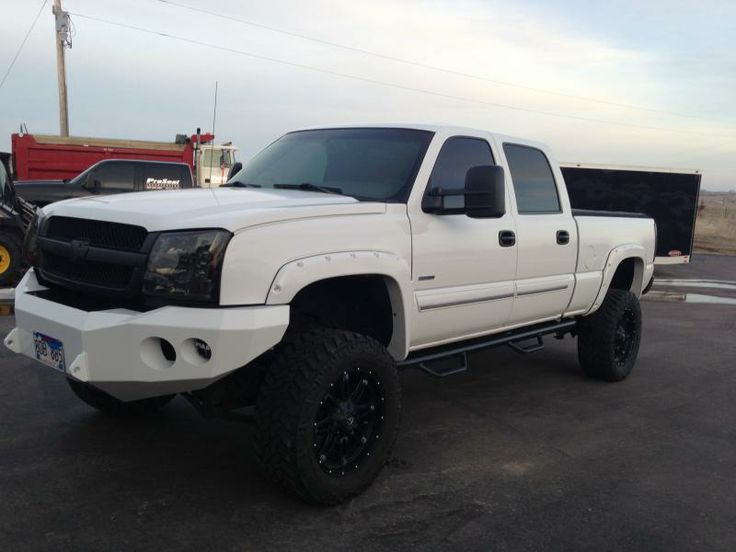 2004 duramax white mirrors opinions on the changes chevy and gmc duramax diesel forum 1. Black Bedroom Furniture Sets. Home Design Ideas