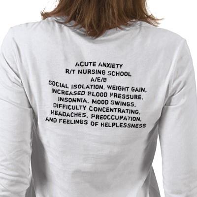 Student Nurse Long Sleeve T-shirt from http://www.zazzle.com/nursing+gifts