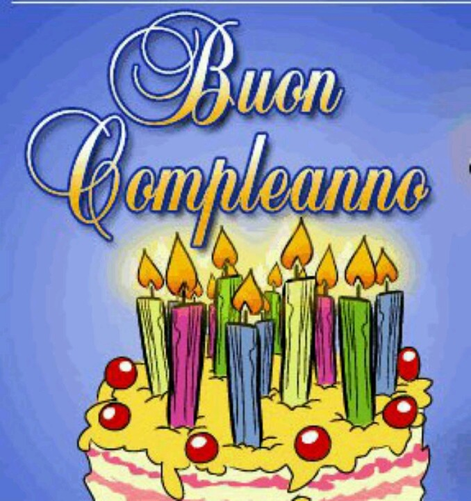 17 Best images about Birthdays – Happy Birthday Greetings in Italian