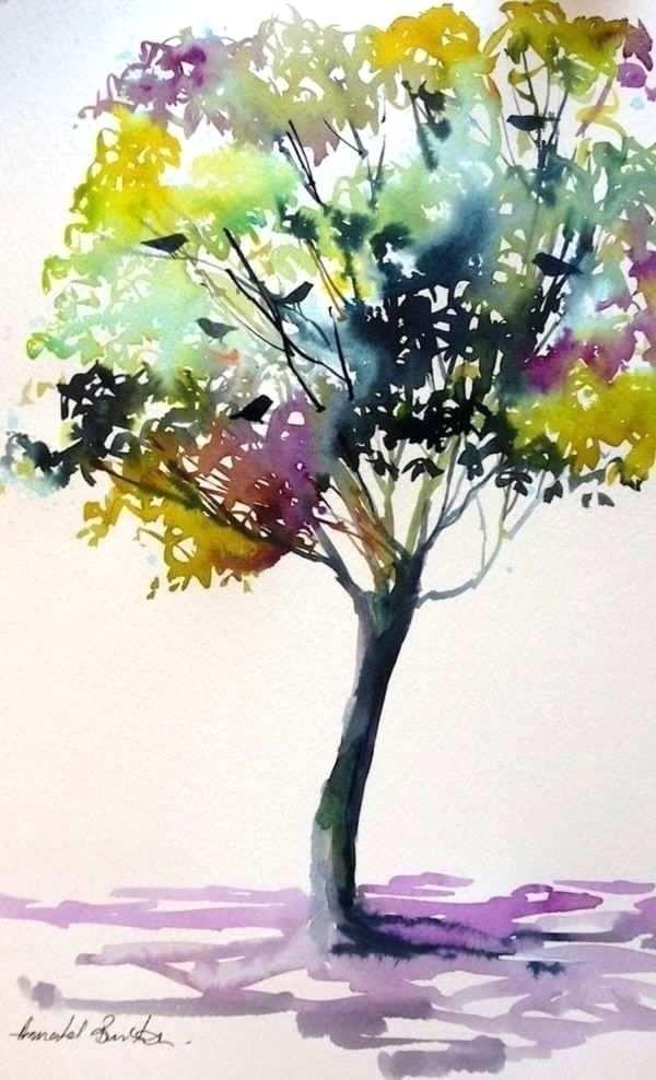 42 Simple Watercolor Painting Ideas For Beginners Arte De