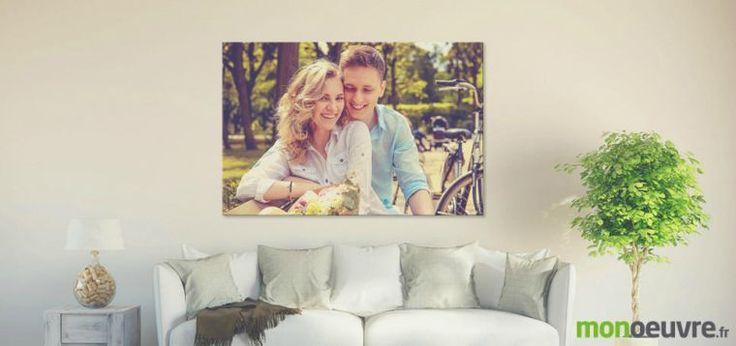 toile photo pas cher - impression et idée de décoration originale