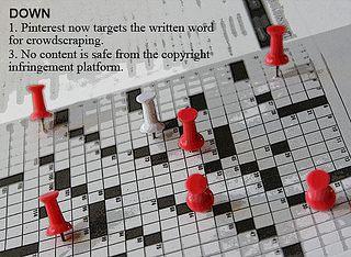 Pinterest is a crowdscraper, a copyright infringement platform.