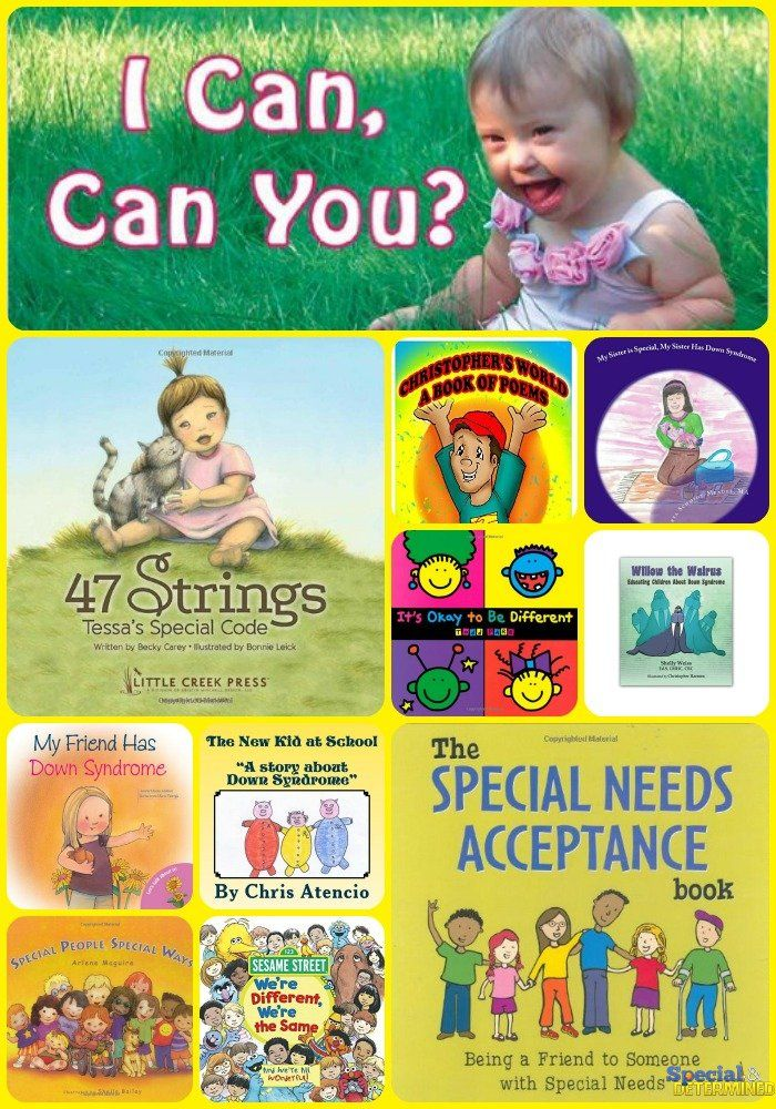 21 Children's Books for Down Syndrome Awareness Month. Help young minds learn about Down syndrome, and help spread awareness.