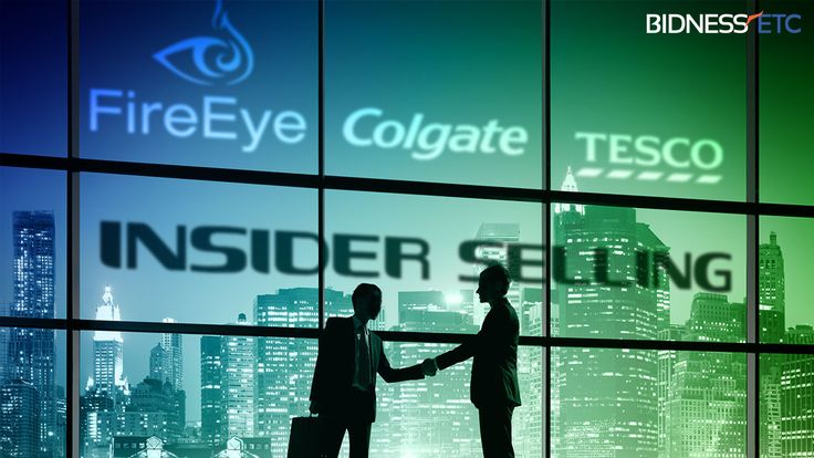 Insider Selling: FireEye Inc (FEYE), Colgate-Palmolive Company (CL), & Tesco Corporation (USA) (TESO)