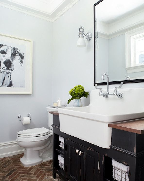 degraw and dehaan architects bathrooms pale blue walls bathrooms with pale blue walls apron sink apron sink in bathroom bathroom apr