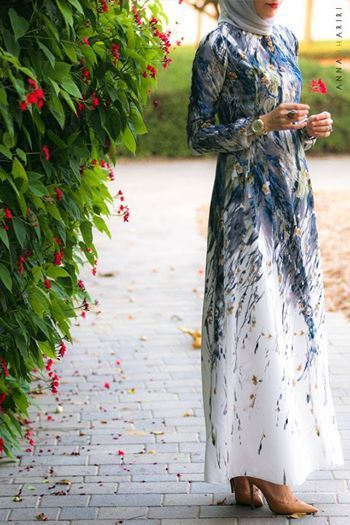 latest Muslimah abaya and hijab fashion for women (10)