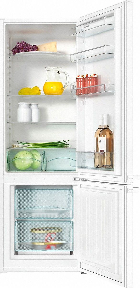 The perfect home for your food and drinks - keep everything fresh with a high-quality fridge/freezer by Miele - best of all: it's super energy saving, environmentally friendly and will guarantee years and years of fresh food!
