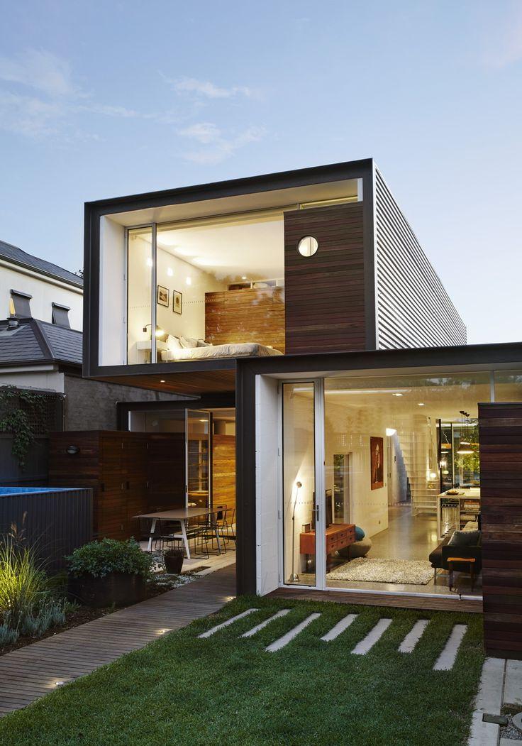 Klein statt klotzig - Einfamilienhaus in Melbourne