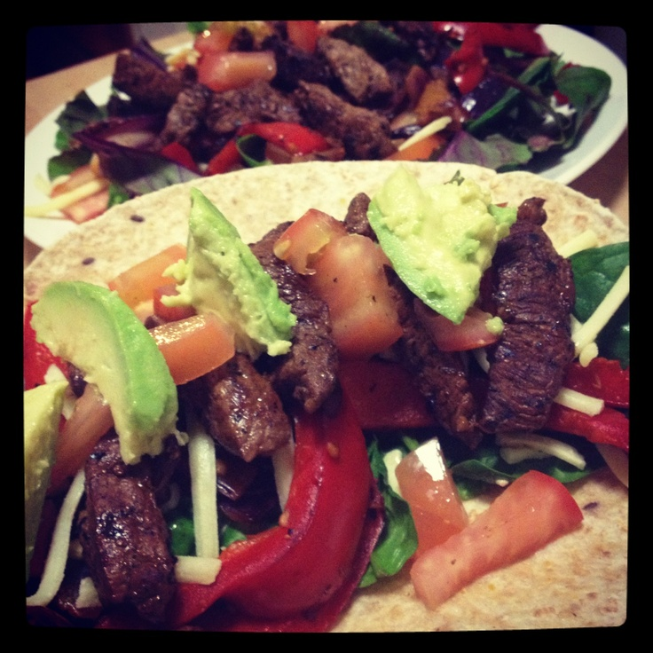 Michelle Bridges Beef Fajita - so good!